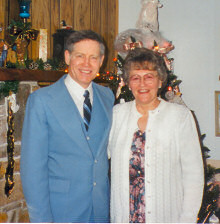 Dr. Reg Dunlap and his wife, Ellie